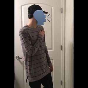 AEO | Men's Long Length Long Sleeve Shirt NWT